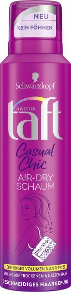 Schwarzkopf 3 Wetter Taft Casual Chic Air-Dry Schaum