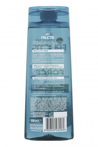 Garnier Fructis Ice Force 2in1 Shampoo Limette