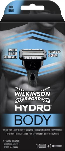 Wilkinson Sword Hydro Body Rasierer inkl. 1 Klinge