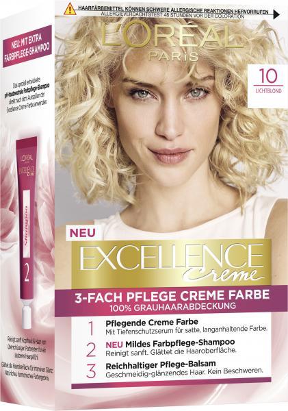 L'Oréal Excellence 10 Lichtblond