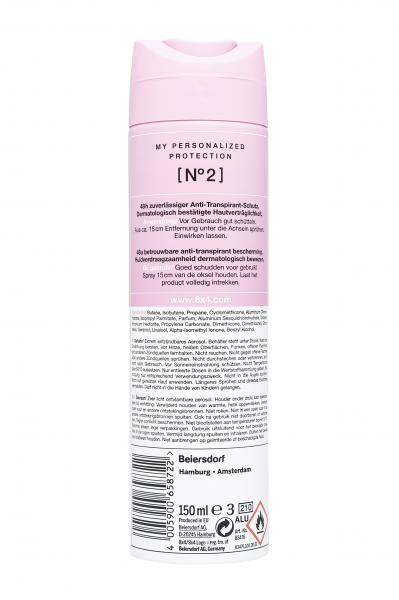 8x4 No.2 Deo Spray Clear Rose