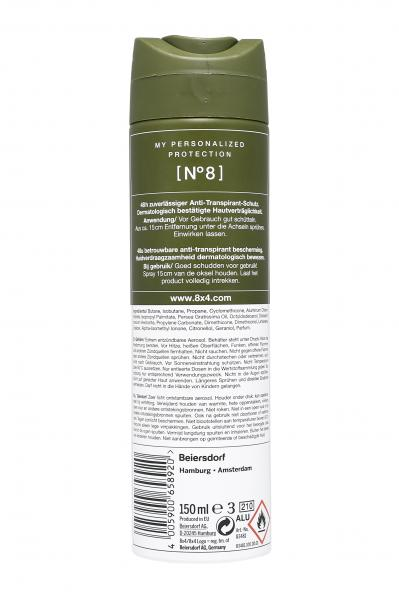 8x4 No.8 Deo Spray Wild Oak