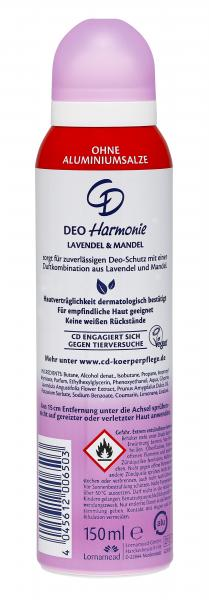 CD Deo Spray Harmonie Lavendel & Mandel