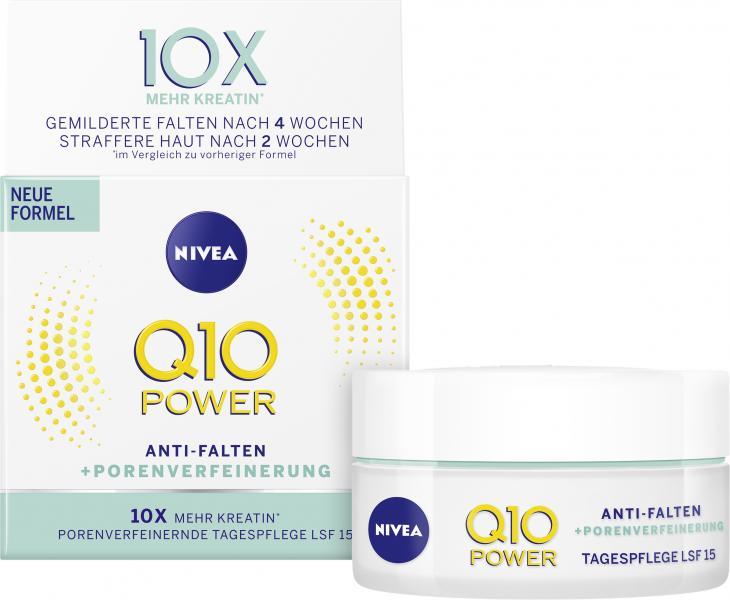 Nivea Q10 Power Anti Falten + Porenverfeinerung Tagespflege