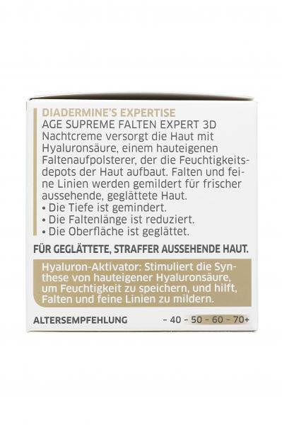 Diadermine Age Supreme Falten Expert 3D Nachtcreme