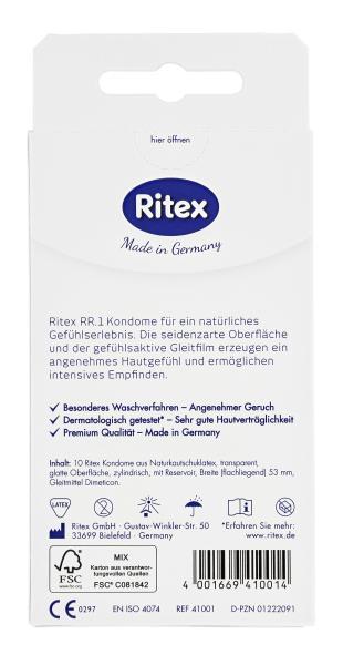 Ritex RR. 1 Kondome Gefühlsintensiv