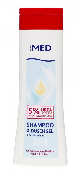 ReAm Med 2 in 1 Duschgel & Shampoo Urea