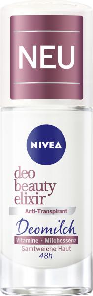 Nivea Deo Beauty Elixir Anti-Transpirant Deomilch Roll-On