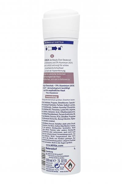 Nivea Deo Beauty Elixir 0% Deomilch Spray