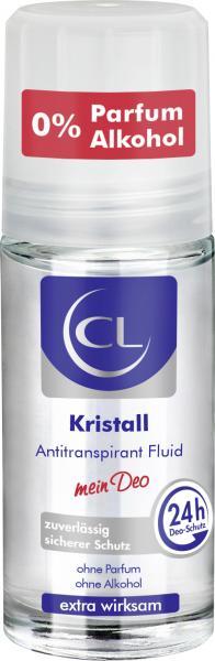 CL Cosmetik Kristall Antitranspirant Fluid