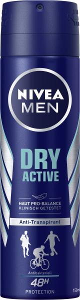 Nivea Men Dry Active Deo Spray