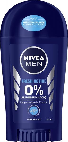 Nivea Men Fresh Active 0% Deo Stick