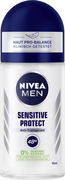 Nivea Men Sensitive Protect Anti-Transpirant Deo Roll-on