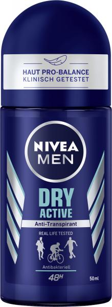 Nivea Men Dry Active Deo Roll On