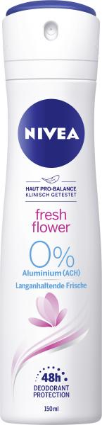 Nivea Deo Spray Fresh Flower 0% Aluminium