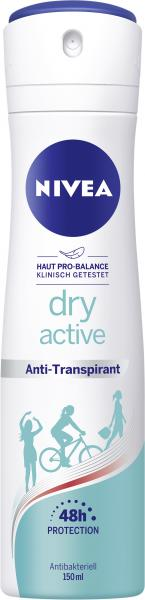 Nivea Dry Active Deo Spray