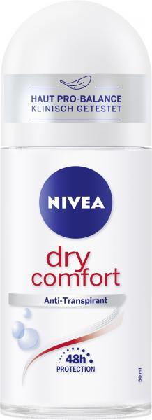 Nivea Dry Comfort Deo Roll On