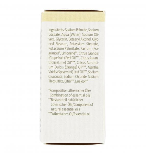 Speick Bionatur Soap Bar Carpe Diem Grapefruit Limette
