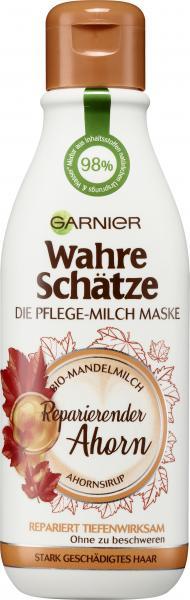Garnier Wahre Schätze Pflege-Milch Maske Ahorn