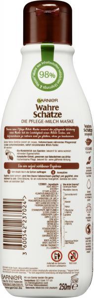 Garnier Wahre Schätze Pflege-Milch Maske Kakao