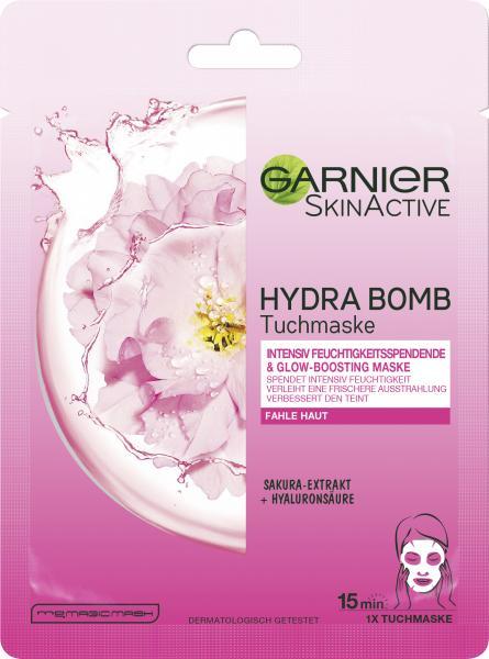 Garnier Skin Active Hydra Bomb Tuchmaske Sakura-Extrakt