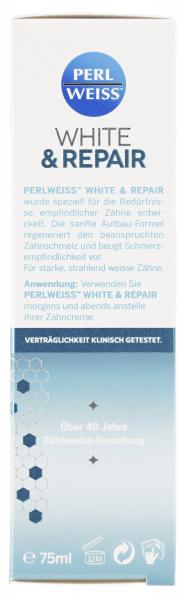 Perlweiss White & Repair Aufbauzahncreme