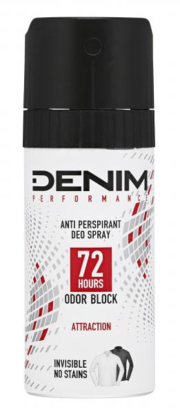 Denim Performance Deospray Attraction