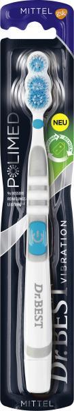 Dr. Best Zahnbürste Vibration Polimed mittel
