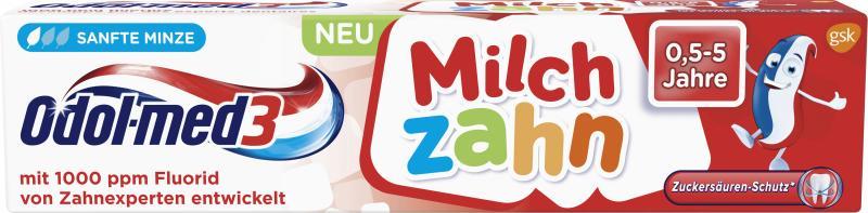 Odol med3 Zahnpasta Milchzahn 0,5-5 Jahre