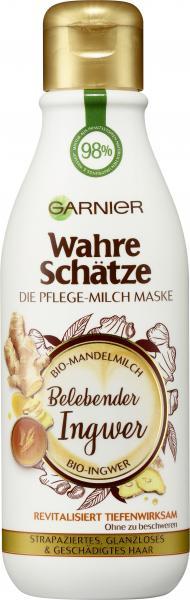 Garnier Wahre Schätze Pflege-Milch Maske Ingwer