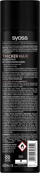 Syoss Thicker Hair Haarspray extra stark
