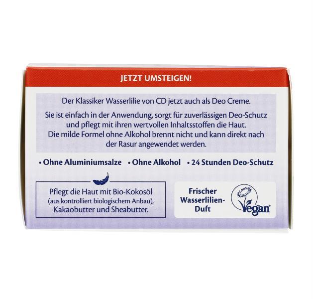 CD Deo Creme Wasserlilien-Duft