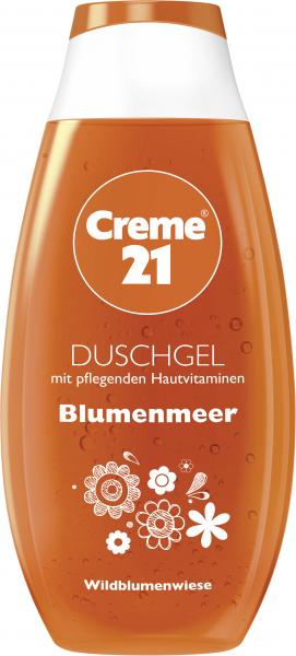 Creme 21 Duschgel Blumenmeer Wildblumenwiese