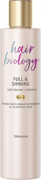 Hair Biology Full & Shining Lotusblume Omega 9 Shampoo