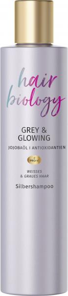 Hair Biology Grey & Glowing Silbershampoo
