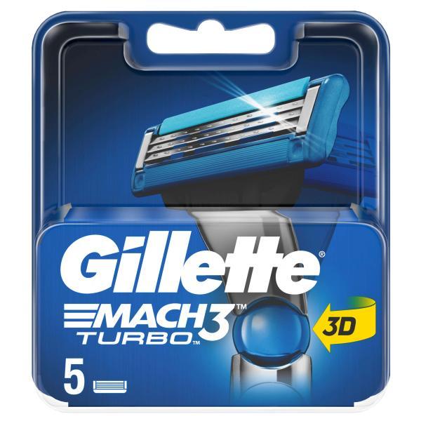 Gillette Mach3 Turbo Systemklingen