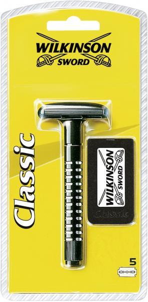 Wilkinson Sword Classic Apparat 5 Klingen