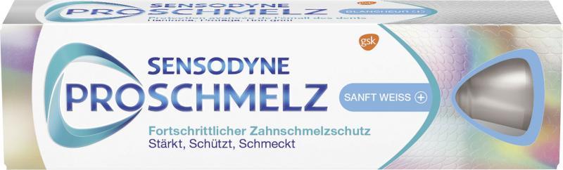 Sensodyne Zahncreme Pro Schmelz Sanft Weiss - Plus