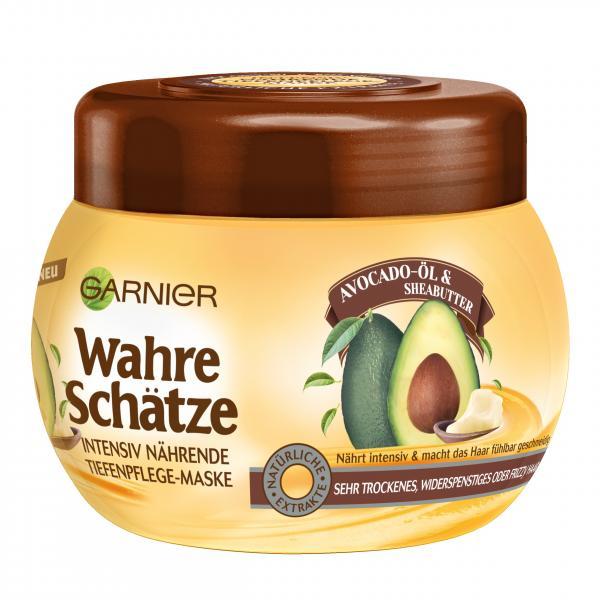 Garnier Wahre Schätze Maske Avocado-Öl & Sheabutter