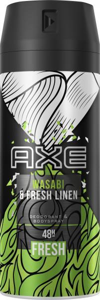 Axe Bodyspray Wasabi & Fresh Linen