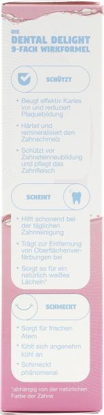 Dental Delight Zahncreme Sunny Splash Grapefruit-Minz-Geschmack
