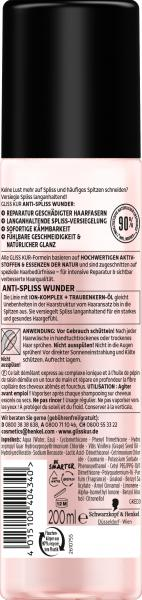 Schwarzkopf Gliss Kur Express-Repair-Spülung Anti-Spliss Wunder