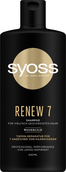 Syoss Renew 7 Shampoo Wasserlilie