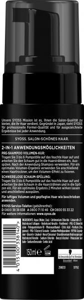 Syoss Volume Luftiger Schaum 2in1 Kur