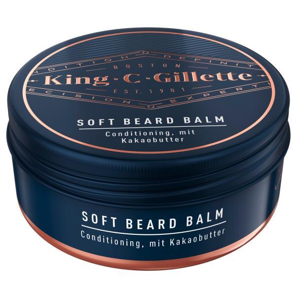 King C. Gillette Soft Beard Balm Bartbalsam