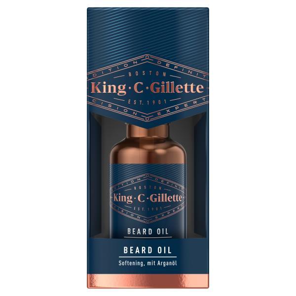 King C. Gillette Beard Oil