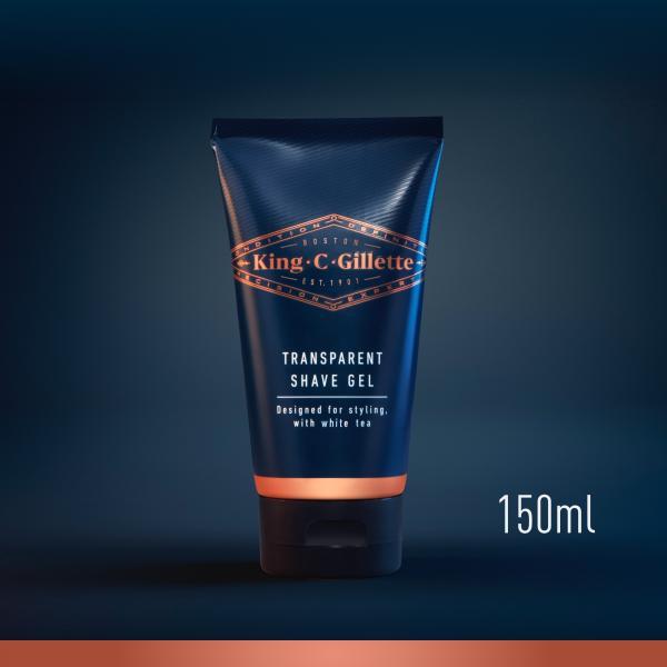 King C. Gillette Transparent Shave Gel