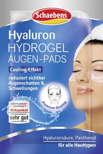 Schaebens Hyaluron Hydrogel Augen-Pads