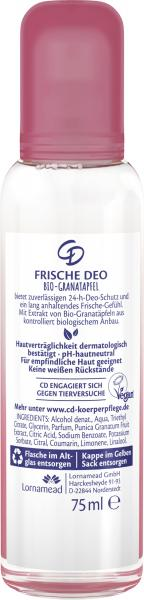 CD Frische Deo Spray Bio-Granatapfel