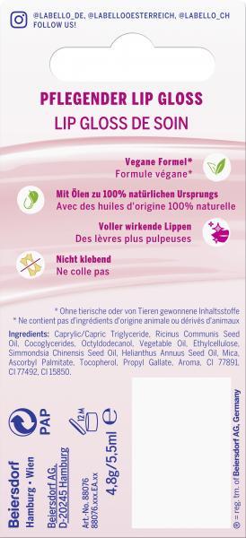 Labello Pflegender Lip Gloss Transparent